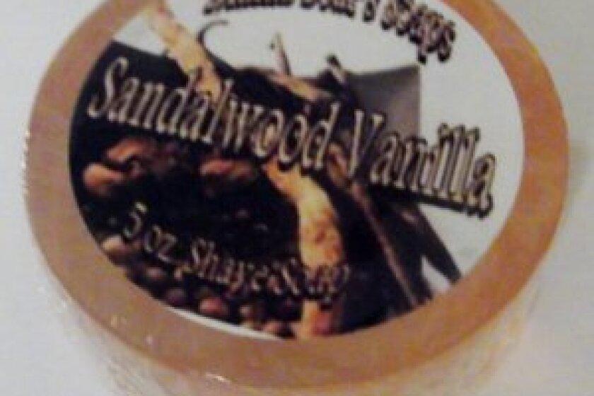 Mama Bear's Sandalwood Vanilla Shaving Soap