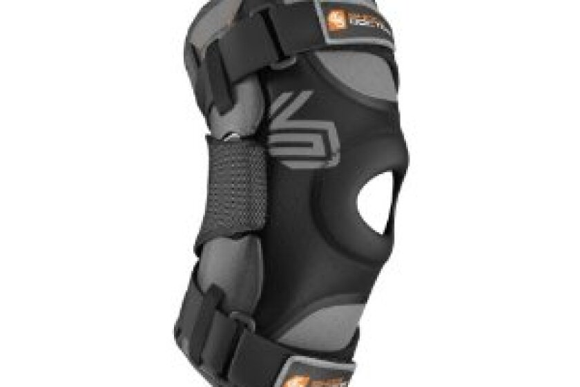 Shock Doctor Ultra Knee Supporter Brace with Bilateral Hinges
