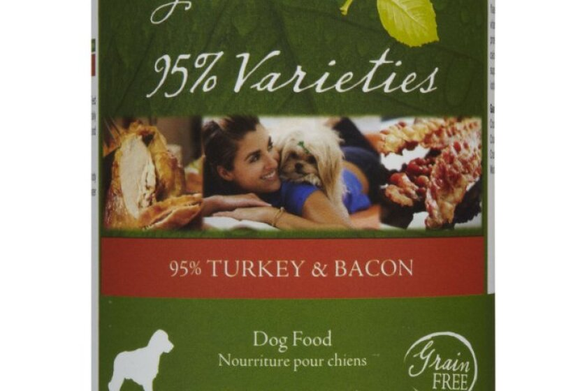 By Nature 95% Meat - 95% Turkey & Bacon Canned Dog Food