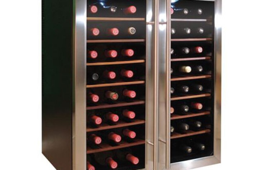 Vinotemp 48 Bottle, Dual-Zone, Thermoelectric Wine Cooler - VT-48TEDS-2Z