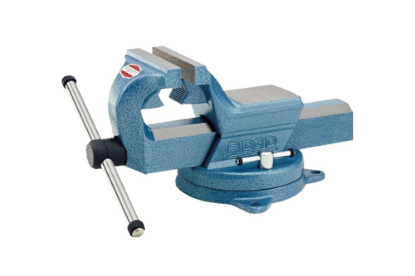 Ridgid 66997 F-60 6-inch Forged F-Series Vise