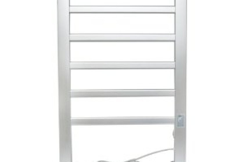 Home Fashion 6-Bar Freestanding Towel Warmer