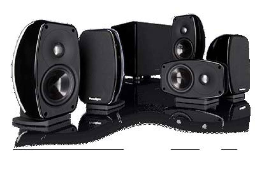 Paradigm Cinema 100CT 5.1 Surround Speakers