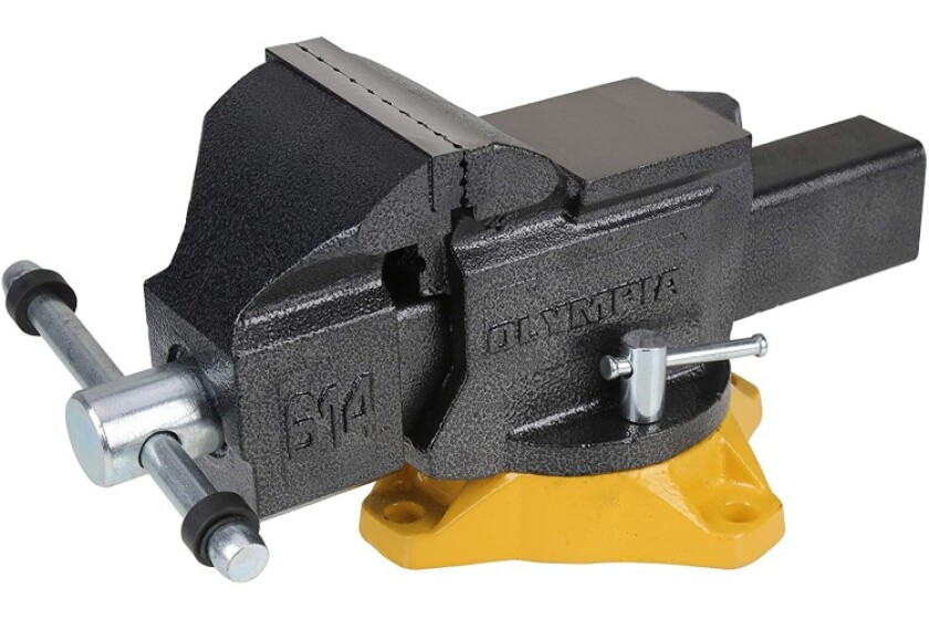 best Olympia Tools Mechanic's Bench Vise
