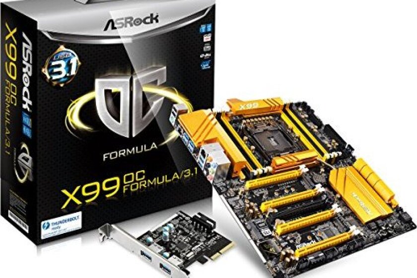 ASRock Extended ATX DDR4 X99 Motherboard