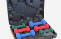 Sunny Health & Fitness 2, 3, 5 lb Neoprene Dumbbell Set
