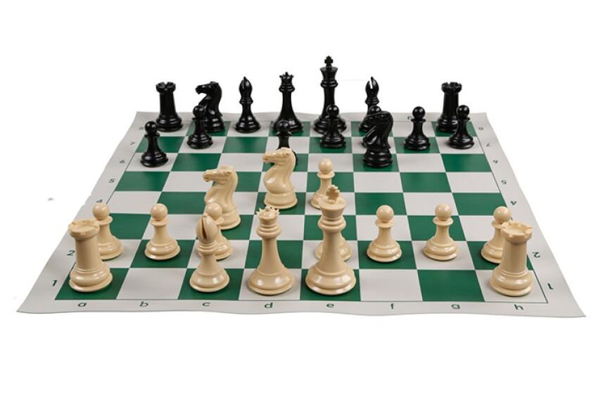 Portland Chess ShopQuadruple Weight Tournament Natural Chess Set