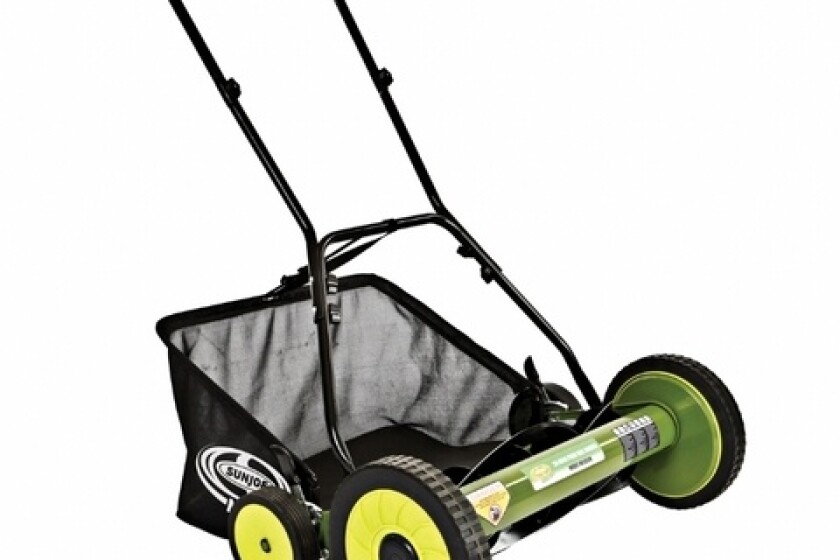 "Sun Joe Mow Joe MJ502M 20"" Manual Reel Mower with Catcher"