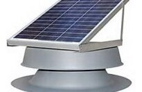Natural Light Energy Systems 30-Watt Roof Mounted Attic Fan