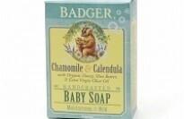 Badger Baby Soap - Organic Chamomile & Calendula