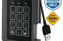 Aegis Padlock Hardware Encrypted 120GB External SSD