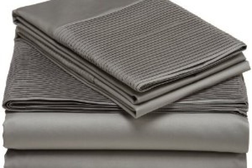 Pinzon 400-Thread-Count Egyptian Cotton Pleated Hem Sheet Set