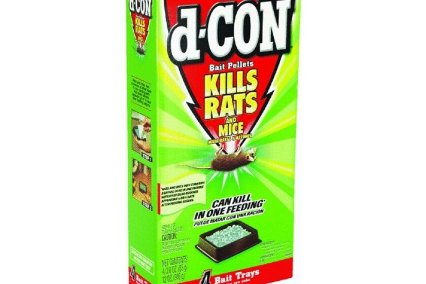 D-Con Rat & Mouse Bait Pellets