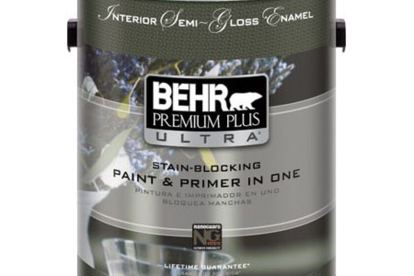 Behr Premium Plus Ultra Interior Semi-Gloss Enamel
