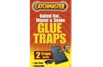 Catchmaster 402 Baited Rat Glue Traps Professional Strength