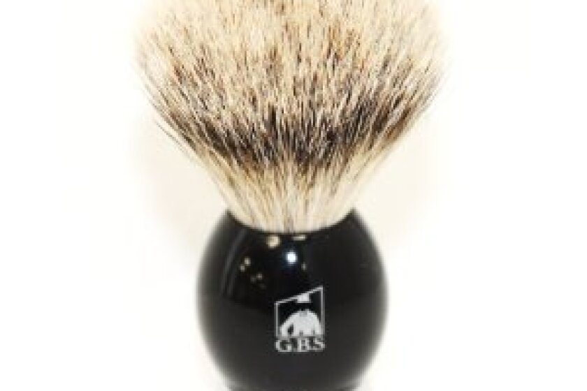 Silvertip Badger Bristle Shaving Brush Black Handle