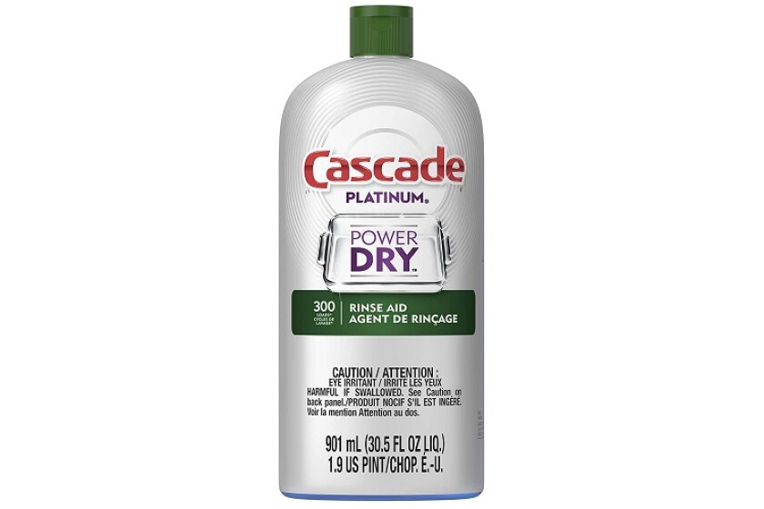 Cascade Platinum Power Dry Dishwasher Rinse Aid
