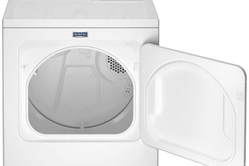 best white electric dryer