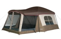 Wenzel Klondike 16 X 11-Feet Eight-Person Family Cabin Dome Tent