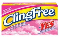 Cling Free Fabric Softener Sheets