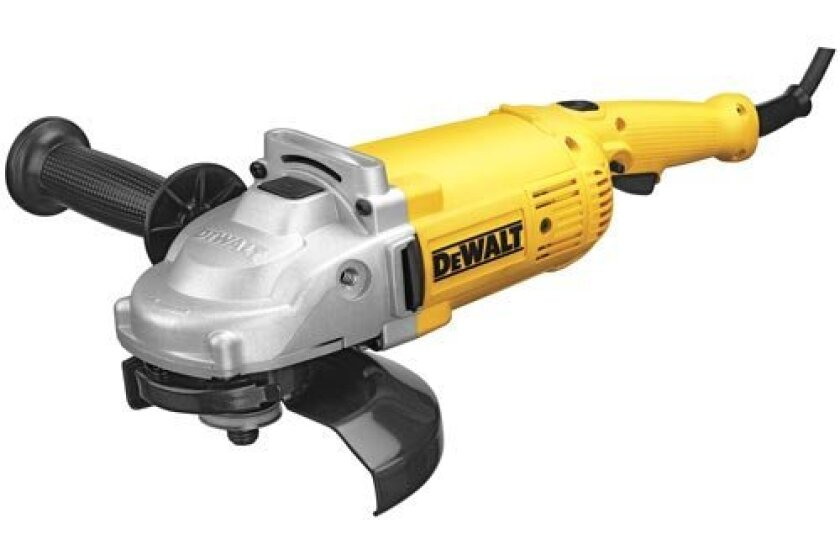 DEWALT DWE4517 7-Inch 8,500 Rpm 4 HP Angle Grinder