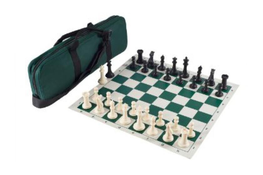 Executive Staunton Tournament Chess Set Combo
