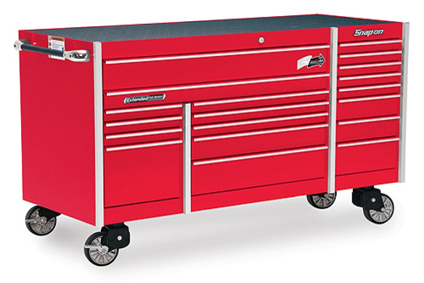 Snap-On KRL7023CPBO, 19 Drawer Triple Bank Roller Cabinet