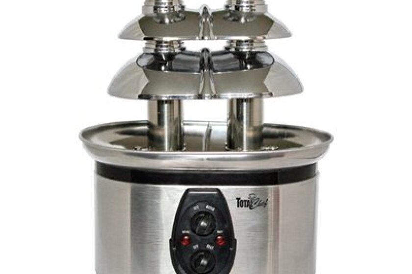 Koolatron Total Chef Stainless-Steel Double Tower Chocolate Fountain - WTF-43