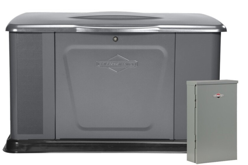 Briggs & Stratton 040394 20000-Watt Home Standby Generator System with 100 Amp Automatic Transfer Switch