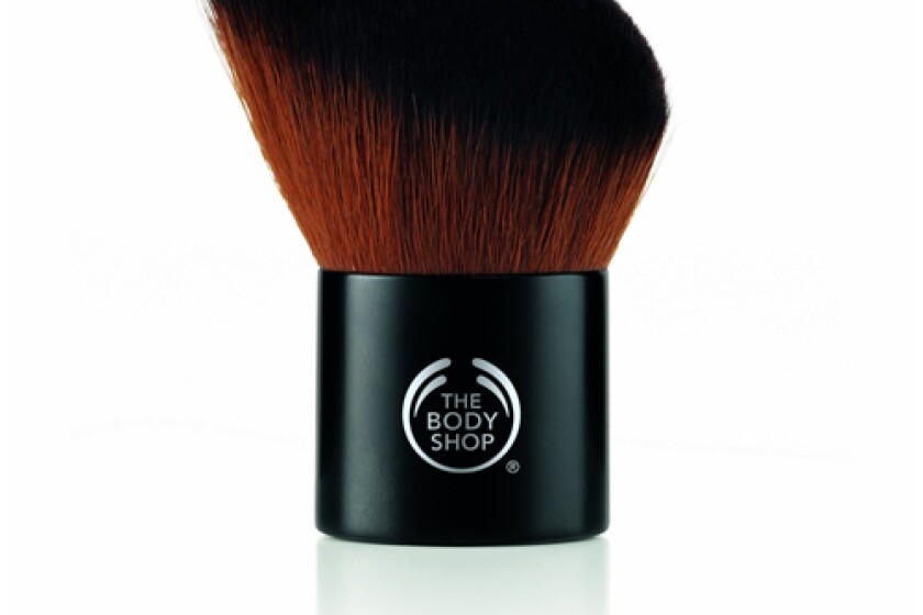 The Body Shop Slanted Kabuki Brush