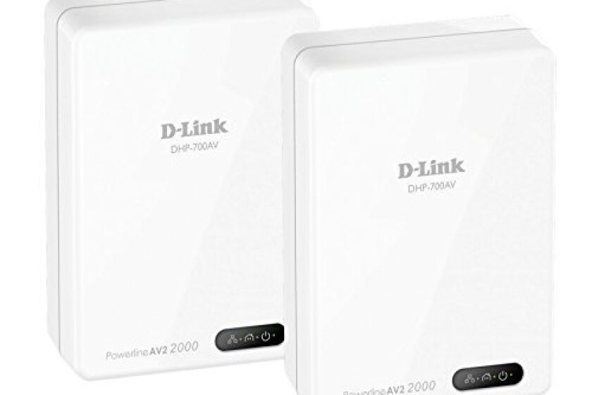 D-Link Powerline AV2 2000 Adapter Gigabit Extender Starter Kit (DHP-701AV)