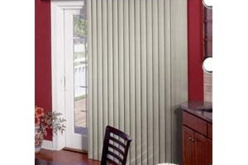 Bali Marble Sculptured Vinyl Vertical Blinds