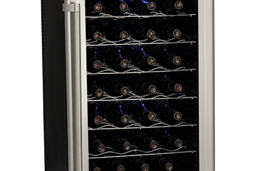 Deluxe 28-Bottle Freestanding Wine Refrigerator