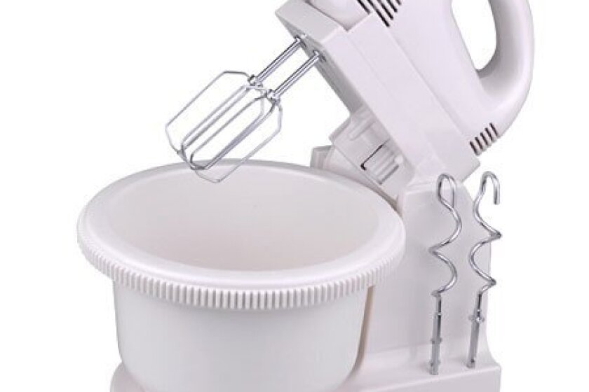 5 Speed with 2 Beaters Electric Kitchen Hand Stand Mixer