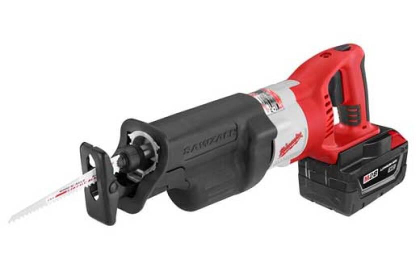 Milwaukee 0719-22, M28 Sawzall Reciprocating Saw Kit