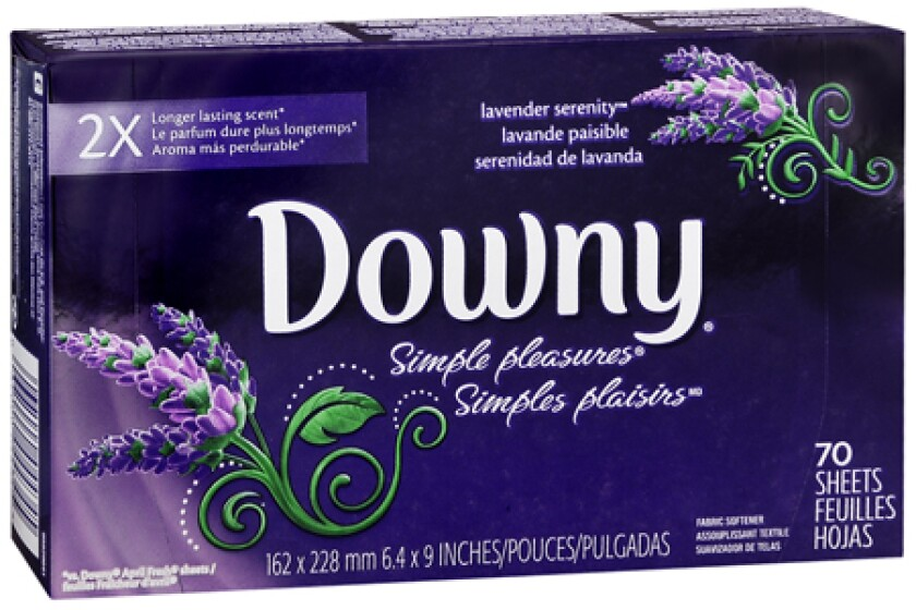 Downy Simple Pleasures Fabric Dryer Sheets