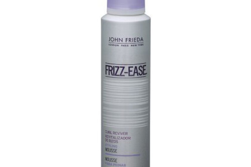 John Frieda Frizz-Ease Take Charge Curl Boosting Mousse