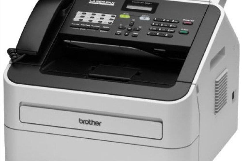 Brother Printer FAX2840 High-Speed Laser Fax Machine