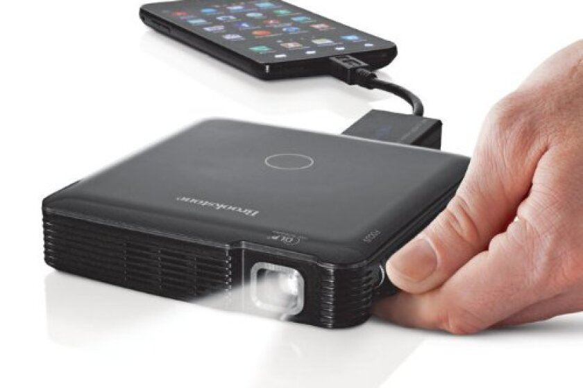 Brookstone Mobile Pocket Projector