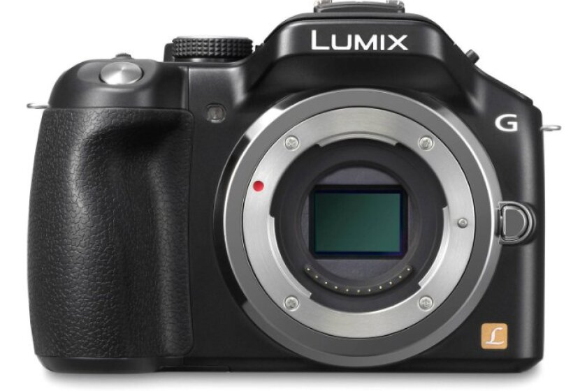 Panasonic DMC-G5 16MP SLR Camera
