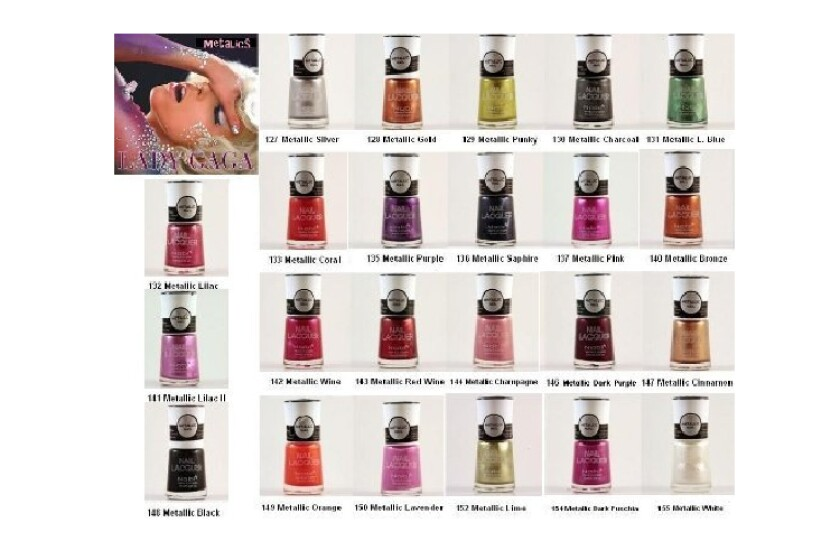 best Nabi Metallic Nail Colors