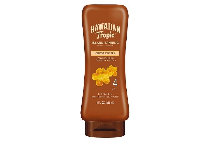 Hawaiian Tropic Sun Tanning Sunscreen Lotion