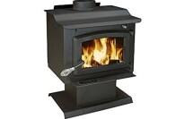best US Plate Steel Pedestal Wood Stove