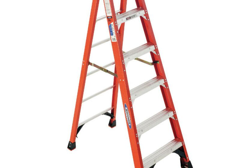 Werner NXT1A06 Fiberglass Single Sided Stepladder