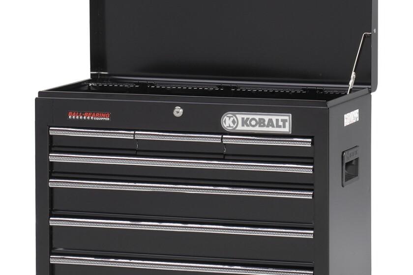 Kobolt TRXK712D, 28.69 Inch Steel 7 Drawer Tool Chest