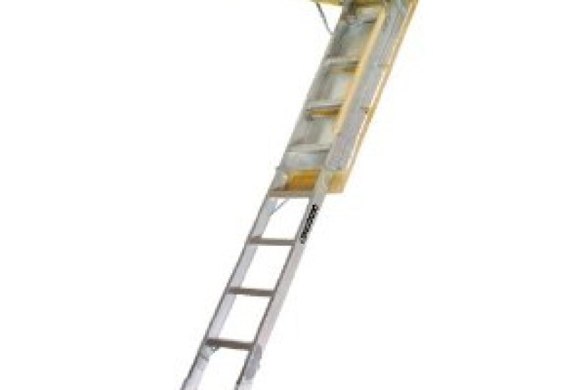 Louisville Ladder AA2210 Elite Aluminum Attic Ladder
