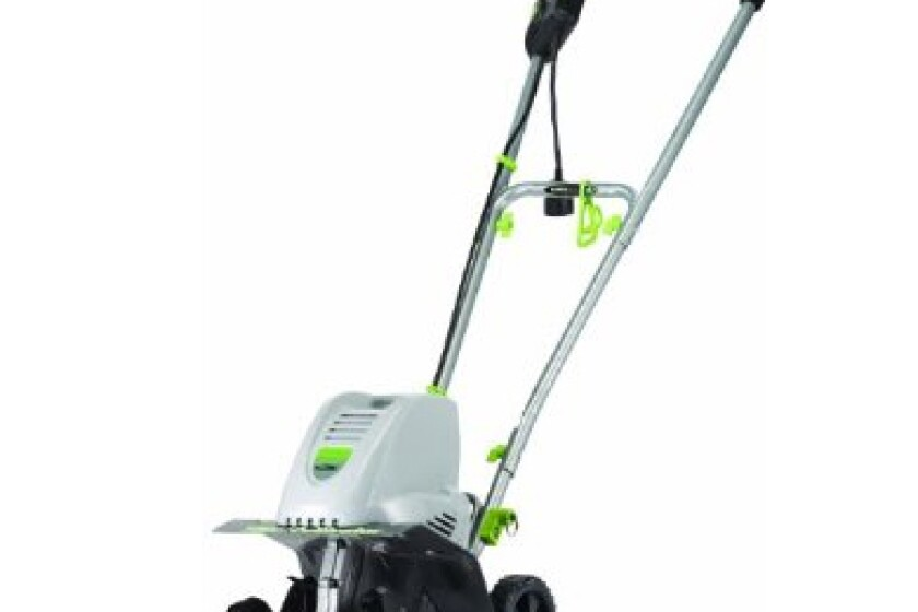 "Earthwise TC70001 11"" Electric Tiller/Cultivator"