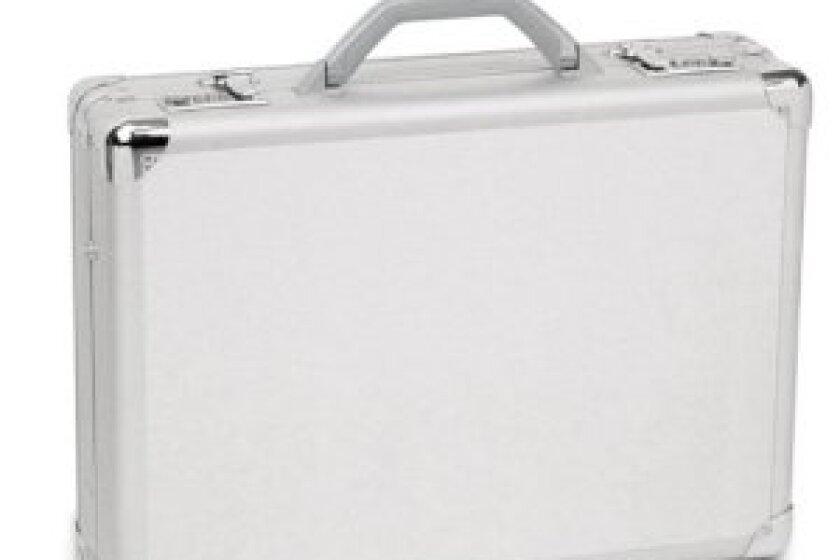 "Solo 17"" Aluminum Laptop Attache"