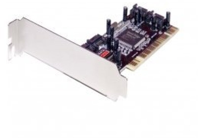 Syba Controller Card Sd-Sata-4p 4 X Port Sata Raid 0/1 Card