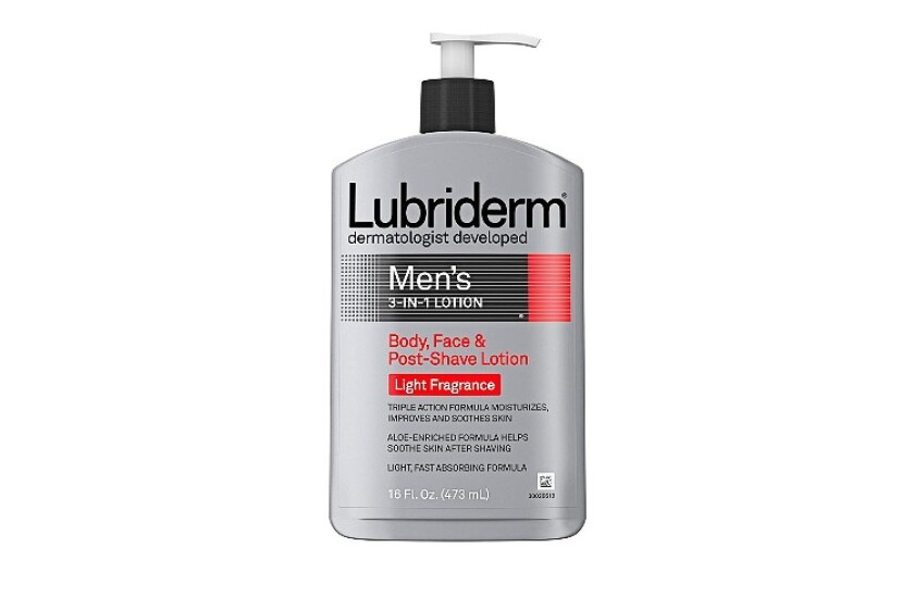 best Lubriderm Men's 3-in-1 Lotion with Light Fragrance